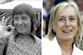 MARTINA NAVRATILOVA .... eccola 30 anni dopo