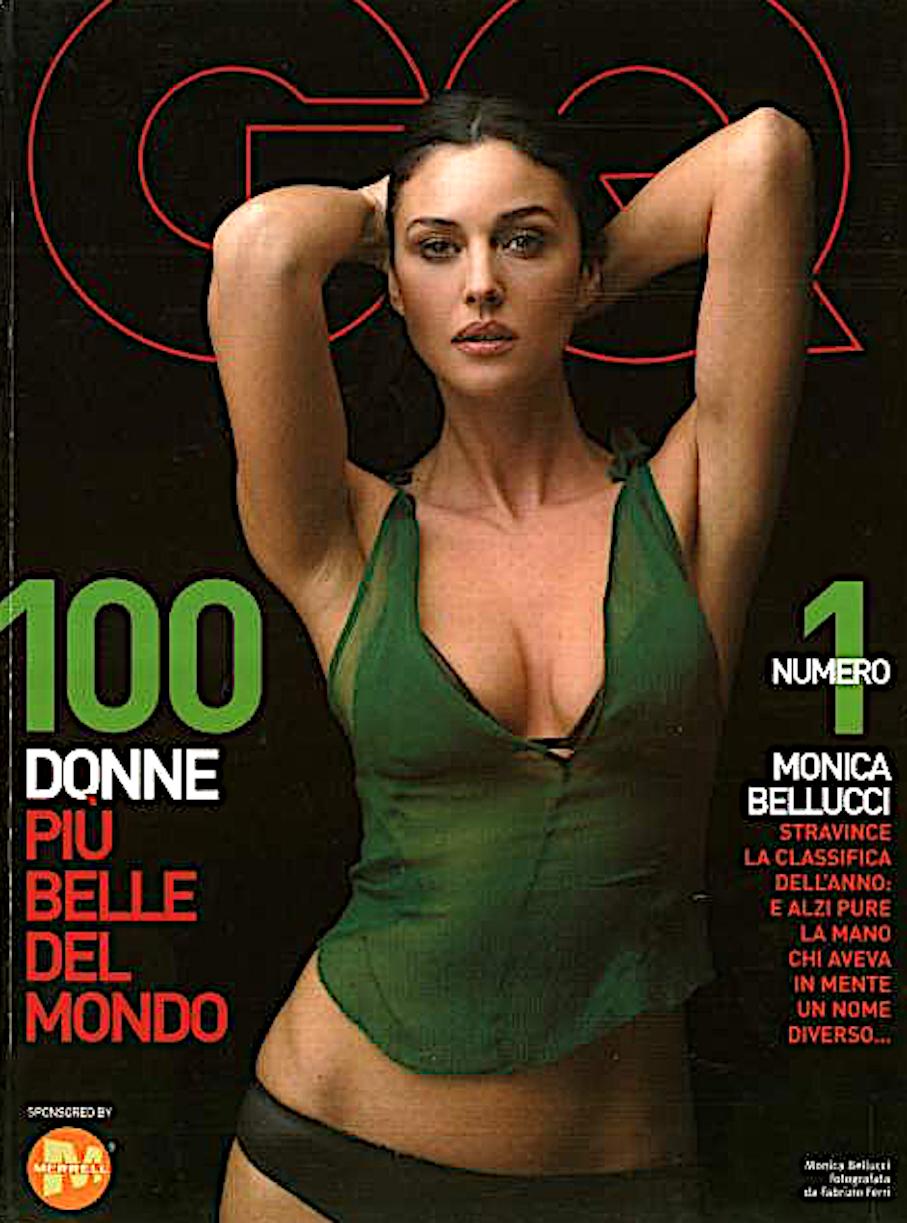Bellucci Calendario.Monica Bellucci Fra Le Piu Belle Del Mondo Qui Come Era E