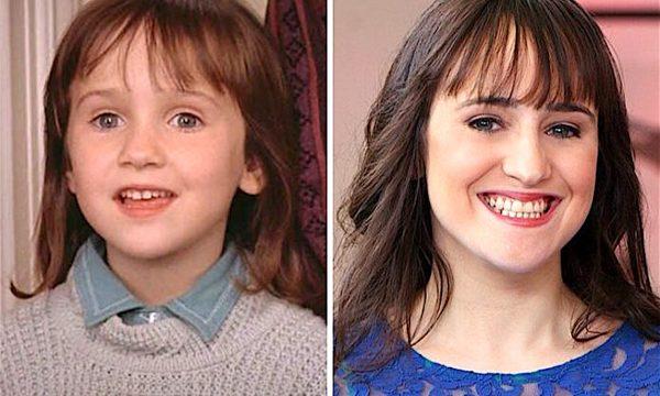 Ricordate MARA WILSON piccola in MATILDA 6 MITICA ? Eccola oggi 20 anni dopo